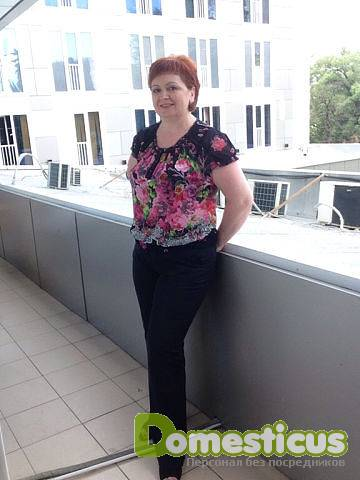 Резюме няни Потапова Наталья Владимировна. Услуги няни